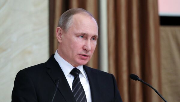 RF prezidenti Vladimir Putin - Sputnik Oʻzbekiston