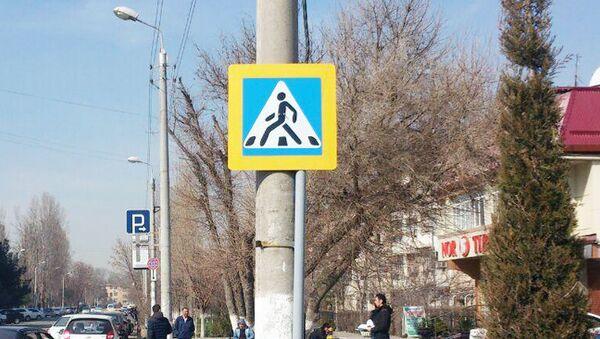 На нерегулируемых пешеходных переходах Ташкента установят новые светоотражающие знаки - Sputnik Ўзбекистон