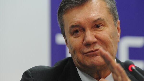 Ukrainaning sobiq prezidenti V. Yanukovich - Sputnik Oʻzbekiston