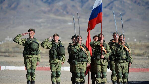 Rossiya harbiy xizmatchilari - Sputnik Oʻzbekiston