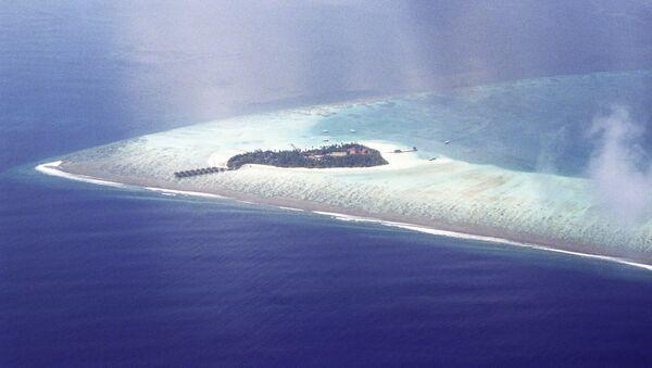 Maldiv atollaridan biri - Sputnik Oʻzbekiston