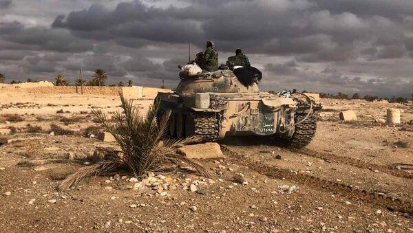 Войска Сирийской Арабской Республики - Sputnik Узбекистан