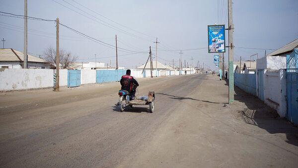 Мотоцикл в сельской местности - Sputnik Ўзбекистон
