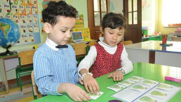 Deti v detskom sadu - Sputnik Oʻzbekiston