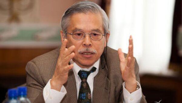 Бывший японский дипломат, профессор университета Васэда Акио Кавато - Sputnik Узбекистан
