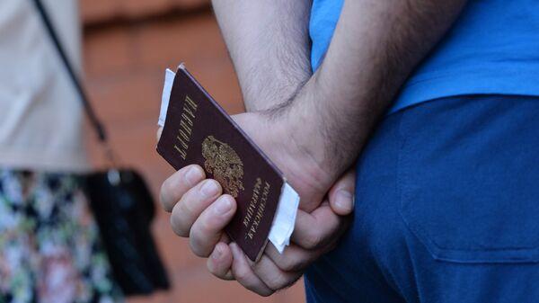 Rossiyskiy pasport - Sputnik Oʻzbekiston