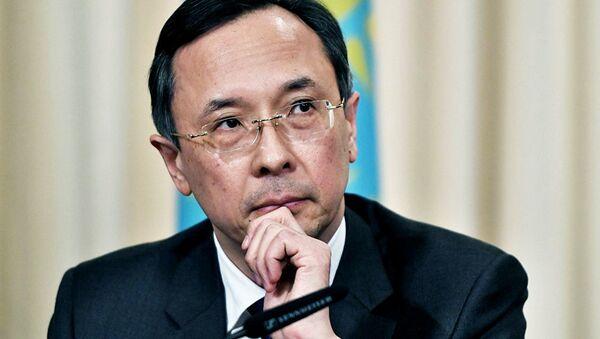 Министр иностранных дел Казахстана Кайрат Абдрахманов - Sputnik Ўзбекистон