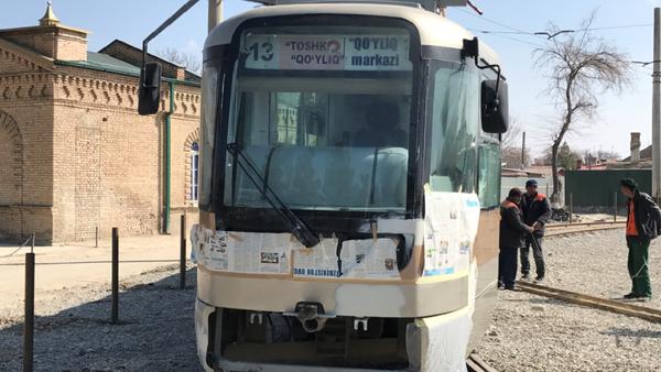 Samarqandda tramvay ishga tushirildi - Sputnik Oʻzbekiston