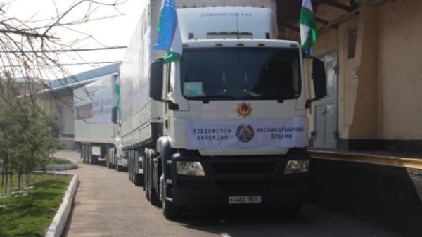 Гуманитарная помощь, направленная властями Узбекистана в Таджикистан - Sputnik Ўзбекистон