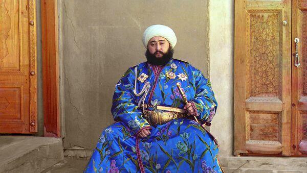 Buxarskiy emir Sayid Alim-xan - Sputnik Oʻzbekiston