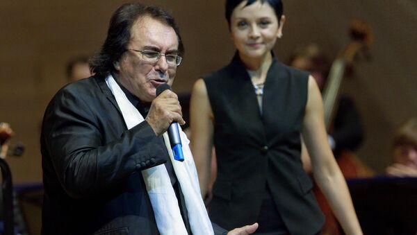 Итальянский певец Аль Бано - Sputnik Узбекистан