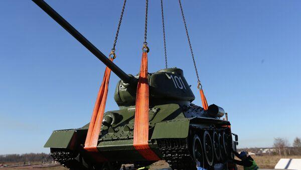 Танк Т-34-85 - Sputnik Ўзбекистон