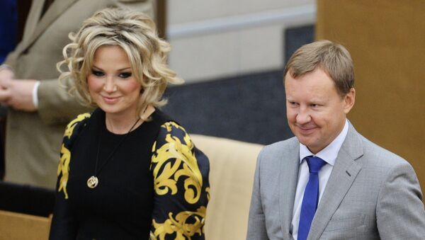 Мария Максакова и Денис Вороненков - Sputnik Узбекистан