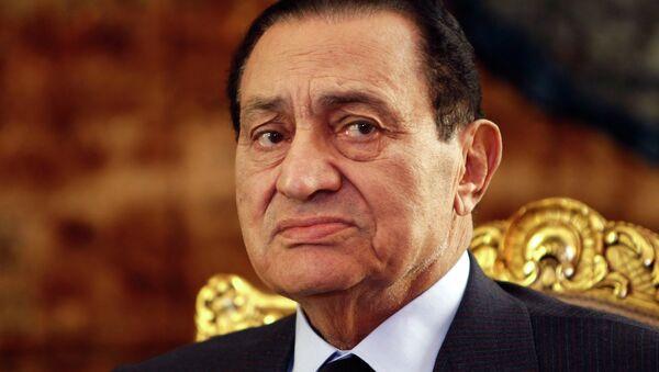 Экс-президент Египта Хосни Мубарак задержан на 15 суток - Sputnik Ўзбекистон