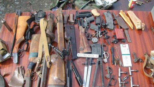 В Бишкеке у местного жителя обнаружили пять гаражей оружия - Sputnik Узбекистан