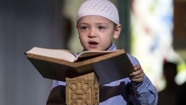 Moskva jome' masjididagi Qur'on festivali - Sputnik Oʻzbekiston