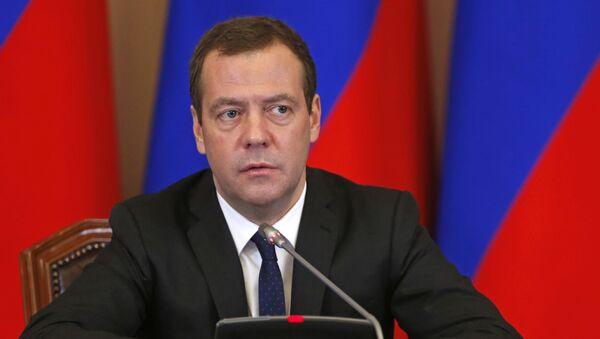 Премьер-министр Д. Медведев - Sputnik Узбекистан