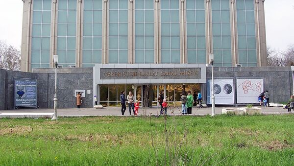 Государственный музей искусств Узбекистана - Sputnik Узбекистан