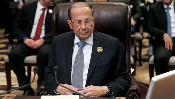 Ливан президенти Мишель Аун - Sputnik Ўзбекистон