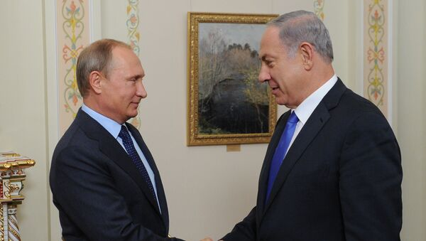 Встреча президента РФ В.Путина с премьер-министром Израиля Б.Нетаньяху - Sputnik Ўзбекистон