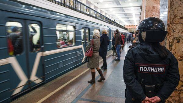 В московском метро усилили меры безопасности - Sputnik Ўзбекистон