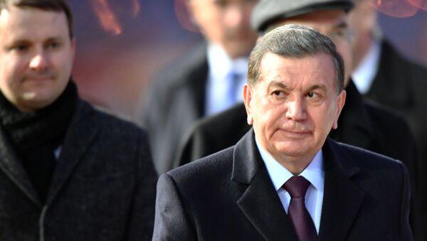Прилет президента Республики Узбекистан Ш. Мирзиёева - Sputnik Ўзбекистон
