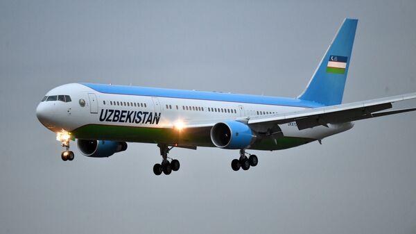 Прилет президента Республики Узбекистан Ш. Мирзиёева - Sputnik Узбекистан