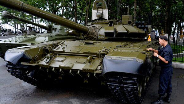 Т-72 танки - Sputnik Ўзбекистон