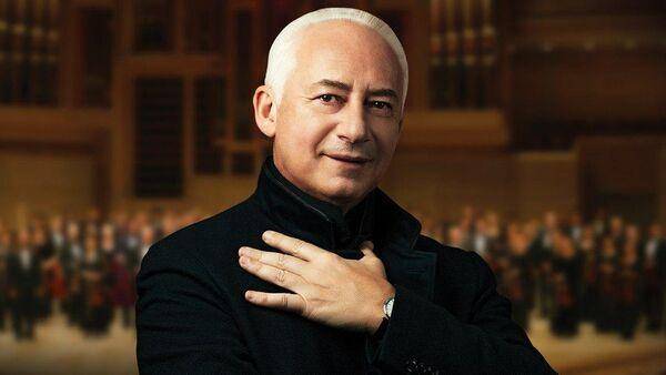 Glavnыy dirijer Natsionalnogo filarmonicheskogo orkestra Rossii Vladimir Spivakov - Sputnik Oʻzbekiston