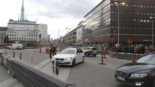 Полиция оцепила место ЧП в центре Стокгольма - Sputnik Ўзбекистон