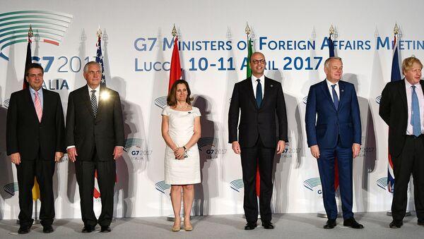 Sammit Ministrov stran G7 v Lukke 10-11 aprelya, 2017 goda - Sputnik Oʻzbekiston