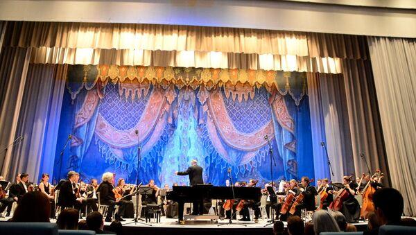 Выступление Симфонического оркестра Мариинского театра в Ташкенте - Sputnik Ўзбекистон