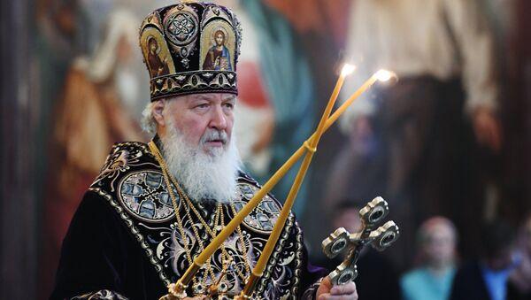 Patriarx Moskovskiy i vseya Rusi Kirill - Sputnik Oʻzbekiston