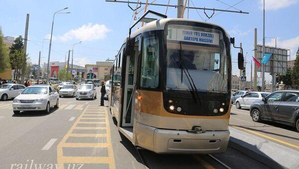 Трамвай в Самарканде - Sputnik Узбекистан