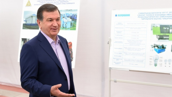 Президент Узбекистана Шавкат Мирзиёев в Самарканде - Sputnik Ўзбекистон