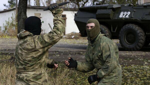 Показательные выступления пограничной службы в Крыму - Sputnik Ўзбекистон