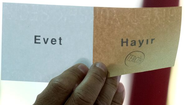 Референдум по изменению Конституции Турции - Sputnik Узбекистан