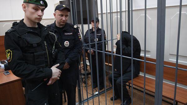 Рассмотрение ходатайства следствия об аресте А.Азимова в Басманном суде - Sputnik Узбекистан