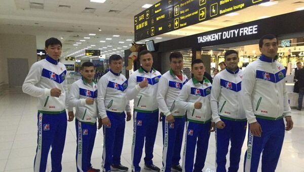 Uzbek Tigers pered poletom v Rossiyu - Sputnik Oʻzbekiston