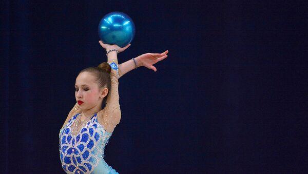 Badiiy gimnastika boʻyicha Toshkentda boʻlib oʻtgan Jahon chempionati - Sputnik Oʻzbekiston