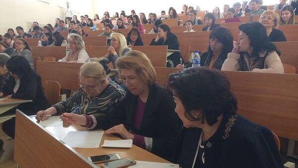 Студенты в аудитории в Ташкенте - Sputnik Узбекистан