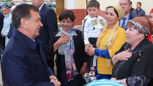 Шавкат Мирзиёев встретился с жителями Джизакской области - Sputnik Ўзбекистон