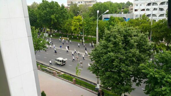 Марафон в центре Ташкента - Sputnik Ўзбекистон