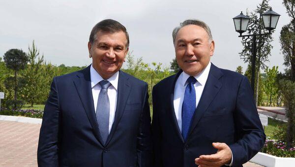Vstrecha Nursultana Nazarabayeva i Shavkata Mirziyoyeva v Kazaxstane - Sputnik Oʻzbekiston