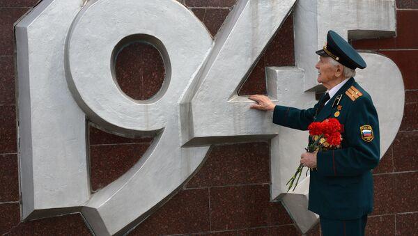 Veteran Velikoy Otechestvennoy voynы Grigoriy Antonovich Vakulishin - Sputnik Oʻzbekiston