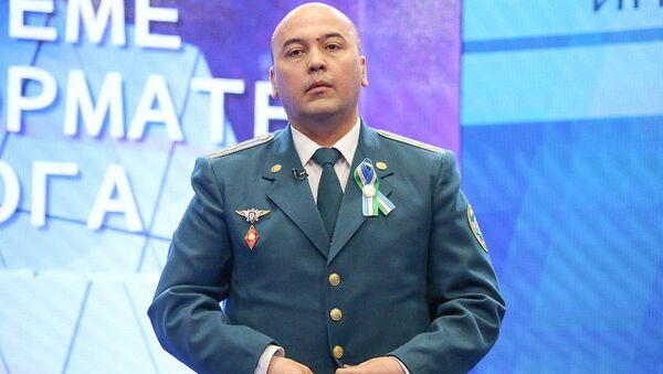 Дилшод Акрамов – начальник Управления правопорядка ГУВД г. Ташкент - Sputnik Ўзбекистон