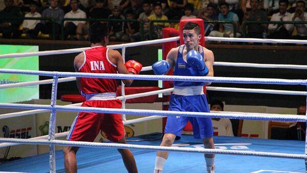 Континентальный чемпионат Азии по боксу среди мужчин в Ташкенте - Sputnik Ўзбекистон