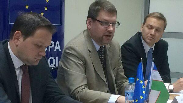 Посол делегации Европейского Союза в Узбекистане Эдуардс Стипрайс - Sputnik Узбекистан