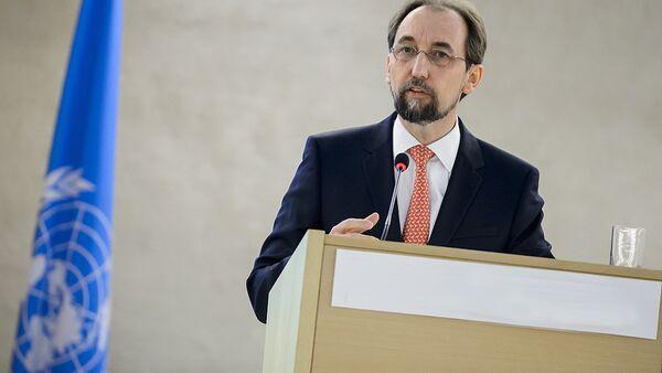 Верховный комиссар ООН по правам человека Зейд Раад аль-Хусейн - Sputnik Узбекистан