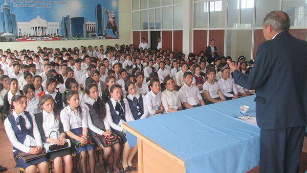 Beseda so shkolnikami po profilaktike prestupleniy - Sputnik Oʻzbekiston